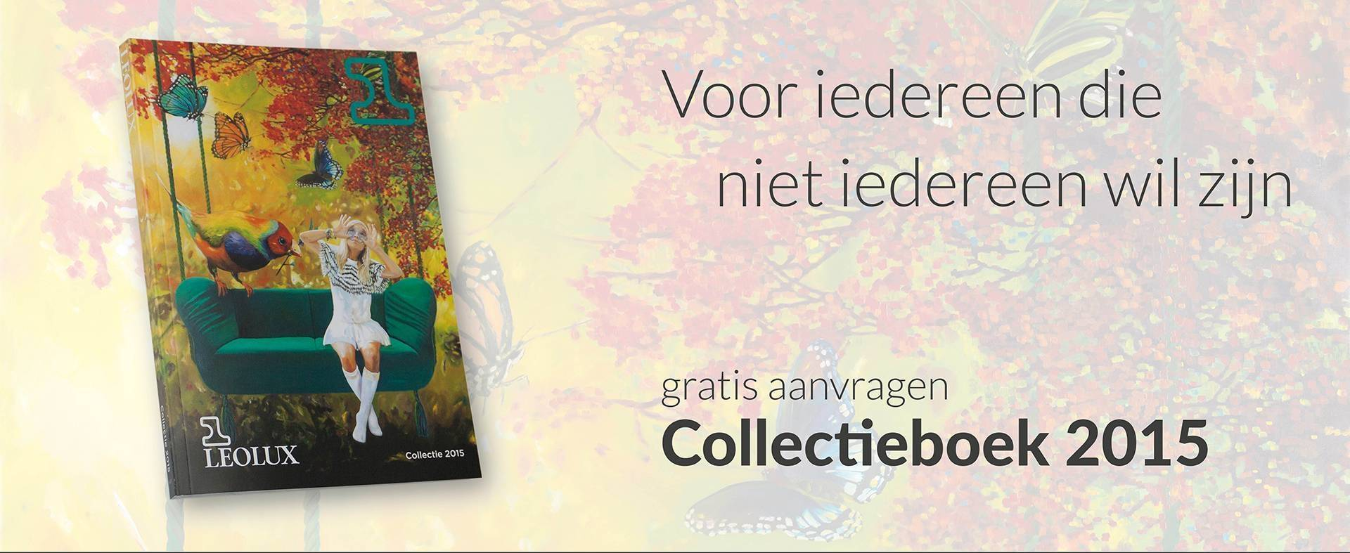 Gratis Leolux Collectieboek 2015 aanvragen