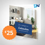Home Design Giftcard € 25,-