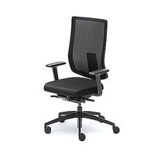 Sedus se:do pro | Ergonomische Bureaustoel | Verstelbare Armleuningen | NEN-EN1335 norm Zwart