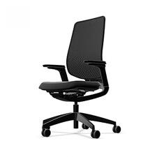 Sedus se:flex | Ergonomische Bureaustoel | Verstelbare Armleuningen | Zwart