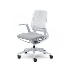 Sedus se:motion | Ergonomische Bureaustoel | Met Armleuningen | Wit (Lichtgrijs)