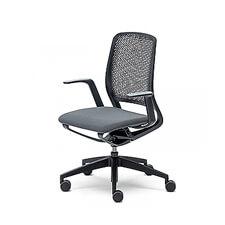 Sedus se:motion | Ergonomische Bureaustoel | Met Armleuningen | Zwart