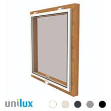 Unilux Raamhor Vast Scharnierend Voorzethor | voor draairaam (binnen en buiten)