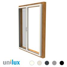 Unilux Voorzet Unit Plissé rolhor | voor alle ramen geschikt